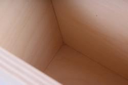 """деревянная заготовка - короб """"неаполь"""" узкий 166*87*173мм"""