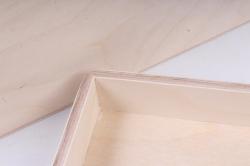 деревянная заготовка - короб под бутылку вина