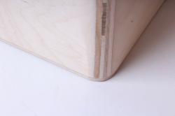 """деревянная заготовка - короб """"прованс"""" 200*200*85мм"""