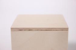 """деревянная заготовка - коробка чайная """"кубик"""" 70x70x70мм"""
