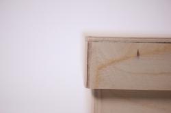 деревянная заготовка - коробка квадратная с крышкой 23х23см h=13cм