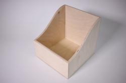 Деревянная заготовка - Коробочка под специи 15*15см h=15см