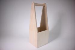 деревянная заготовка - корзинка под плитку 14х13х39см