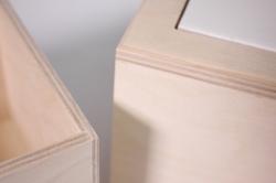 деревянная заготовка - кубик под плитку 10*10см