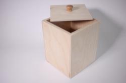 Деревянная заготовка - Кубик с крышкой 13*13*17см
