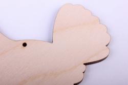 деревянная заготовка - курочка 10см, фанера 4мм 402053