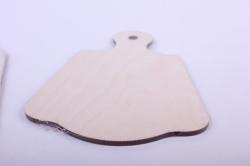 деревянная заготовка - набор 2 доски 12,7*18см, фанера 4мм  503299
