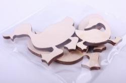 """деревянная заготовка - набор """"гусиная семья"""" нм-93"""