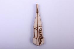 """деревянная заготовка - набор """"нью йорк"""" , фигурки 2-5см, фанера 3мм  001009"""