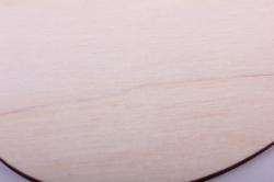 """деревянная заготовка - набор """"пасхальные яйца"""" средний 8см, 3шт, фанера 3мм  402049"""