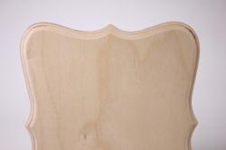 деревянная заготовка - накладка фигурная панно 5-03 21х19см