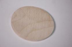 деревянная заготовка - накладка кружок 10*5