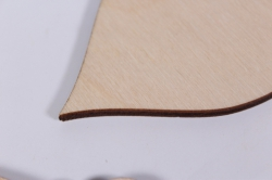 деревянная заготовка - новогодние сосульки 3шт, набор, фанера 4мм, 302017