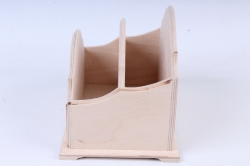 деревянная заготовка - подставка двойная ноктюрн