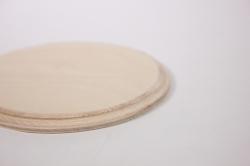 деревянная заготовка - подставка под горячее круг d=12cм