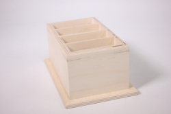 деревянная заготовка - подставка под пульты 11х17 h=7см