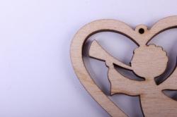 """деревянная заготовка - подвески """"набор валентинок 1 3шт"""" 5-4см, фанера 3мм 402040"""