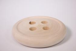 Деревянная заготовка - Пуговица для декора d=14
