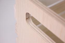 деревянная заготовка - реечный ящик большой