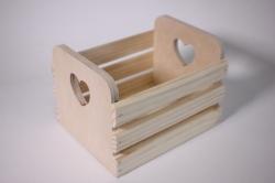 Деревянная заготовка - Реечный ящик малый 12*12*18см