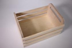 деревянная заготовка - реечный ящик средний 12*12*25см