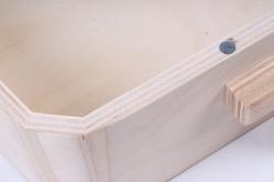 деревянная заготовка - саквояж большой