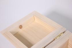 деревянная заготовка - шкатулка бочонок мини 10*10см, h=10см