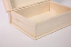 деревянная заготовка - шкатулка фолиант 13x19см h=6см