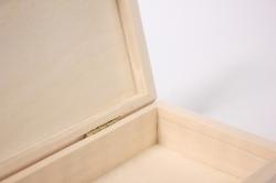 деревянная заготовка - шкатулка купюрница высокая 18x9см h=3см