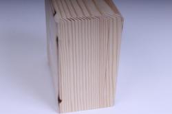 деревянная заготовка - шкатулка робуста 13*13см, h=8см 18260-10