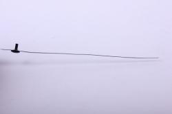 деревянная заготовка - стрелка секундная черная 95мм сс-95