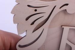 деревянная заготовка - сувенир для бани 20*12см, основа фанера 6мм, накладка фанера 3мм 102084