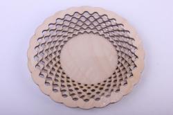 Деревянная заготовка - Тарелка сборная 22см, фанера 4мм 108098