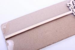 деревянная заготовка - топпер цифры 1 дизайн №2, высота 20см, фанера 3мм 109102
