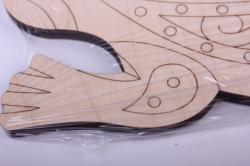 деревянная заготовка - ящерица испанская 25см, фанера 6мм 108096