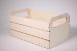 Деревянная заготовка - Ящик реечный большой 18х30см h=15см