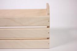 деревянная заготовка - ящик реечный удлиненный 28х11 h=12см
