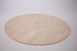 деревянная заготовка - заготовка под часы d=30см