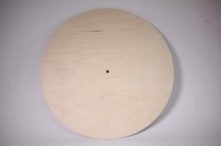 деревянная заготовка - заготовка под часы d=40см
