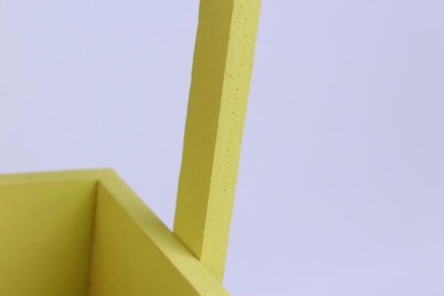 деревянныйящикgardenручкаверёвкаsжёлтый12*12*27см