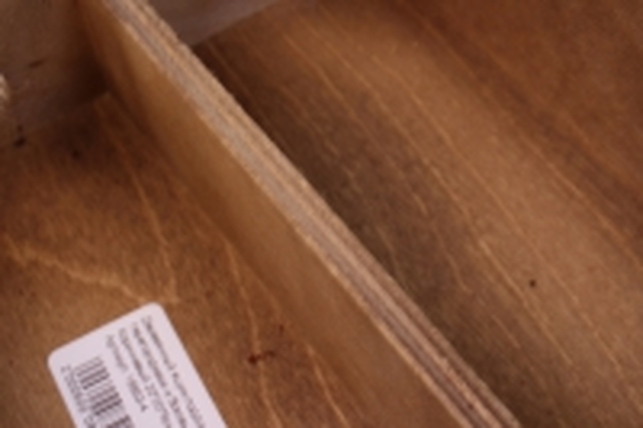 деревянныйящик-поддонсперегородкамиибоковымиверёвкамимкоричневый20*20*6см