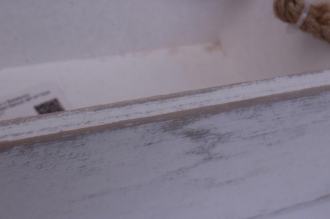 деревянныйящиксбоковымиверёвкамиstandartбелый26*14*10см