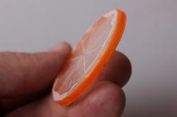 долька апельсина 5см (1шт)