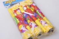 Дудка с бахромой (6шт. в уп.) Клоун с шарами