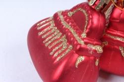 Ёлочное украшение набор (3шт)  цвет: красный DN-21729 (И)