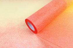 Фетр Корея двухцветный оранжево/красный 50см*15м  NW300-119  М