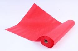 Фетр Ламинированный 50см*10м Кружево красный (Н)