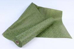 Фетр Ламинированный 50см*10м Кружево оливка  (Н)