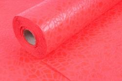 Фетр Ламинированный 50см*10м Паутинка красный  (Н)