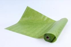 Фетр Ламинированный 50см*10м Паутинка оливка  (Н)